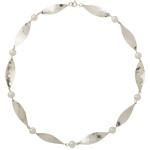 MargaretMims Silver petal necklace 300dpi