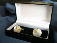 Quadrant Circle Cufflinks
